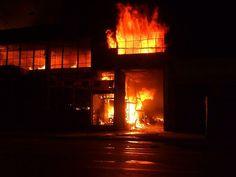 Incendio: Av. 28 de Julio y Jr. Giribaldi, La Victoria, Lima - Perú Fecha: 27/03/2009