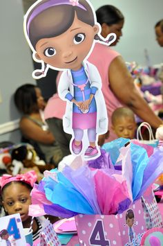 """Photo 1 of 102: Doctor Theme / Birthday """"DocMcStuffins Party""""   Catch My Party"""