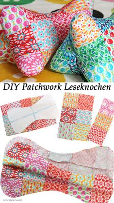 Most up-to-date Pictures sewing tutorials patchwork Popular DIY Patchwork Leseknochen Sewing Machine Projects, Small Sewing Projects, Sewing Projects For Beginners, Sewing Tutorials, Sewing Ideas, Sewing Tips, Patchwork Quilting, Patchwork Bags, Quilts