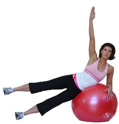 Yoga on the Stability Ball