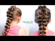 How To French Braid Your Own Hair Step By Step • Hair For Beginners Ep. 6  | ShinyLipsTv - YouTube