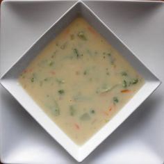 Food Pusher: Broccoli Cheese Soup
