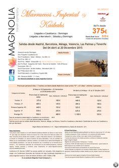 Marruecos Imperial y Kasbash 8ds/7nt desde 515 € ultimo minuto - http://zocotours.com/marruecos-imperial-y-kasbash-8ds7nt-desde-515-e-ultimo-minuto/