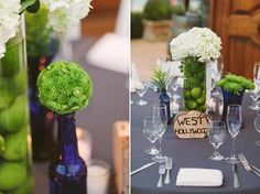 A Blue and Green Wedding
