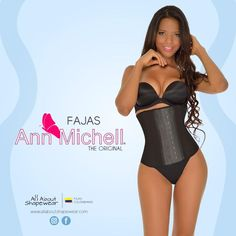 e2b58241895 Fajas Colombianas Waist Shaper Short Torso Sport Latex 3 Row Hook - REF 096  (High Lvl Compression)
