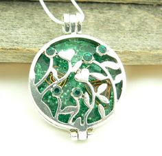 Orgone Energy™ Locket-Malachite Flower Garden. Starting at $12 on Tophatter.com!