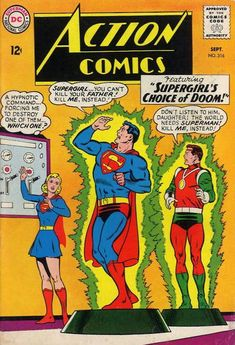 Action Comics #316 Sept. 1964 First Issue  #1 - June 1938     Last  #904 - October 2011