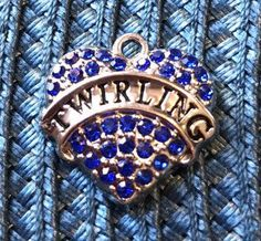 A personal favorite from my Etsy shop https://www.etsy.com/listing/520437849/set-of-3-twirling-blue-and-rhinestones