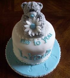 me to you - tatty teddy cake
