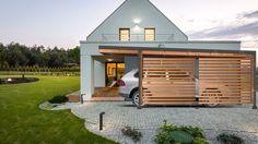 Moderne carports in hout livinlodge pure carport