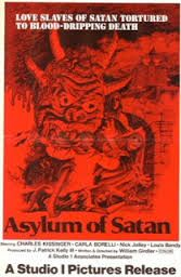 Satan Slaves tortured in a blood-dripping death in the Asylum of Satan.