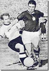 "Ferenc Puskás was born on April 2, 1927 in Budapest, Hungary. He made his professional debut for Kispest in November 1943. Kispest was taken over by the Hungarian Ministry of Defence in 1949, becoming the Hungarian Army team and changing its name to Budapest Honvéd. As a result, football players were given military ranks. Puskás eventually became a major, which led to the nickname ""The Galloping Major"". Football Icon, World Football, Military Ranks, Professional Soccer, Sports Pictures, Famous Artists, Football Players, Disney Characters, Fictional Characters"