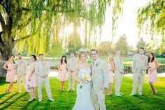 Love me a good wedding party photo!!! eWattsPhotography.com 2013