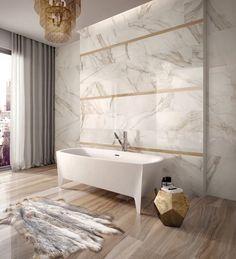 #Flaviker #Supreme Golden Calacatta #Mosaic Lux Anticato rectified 30x30 cm SPMO133   #Porcelain stoneware   on #bathroom39.com at 169 Euro/sqm   #mosaic #bathroom #kitchen
