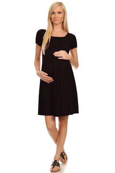 Eliza Short Sleeves Nursing Dress