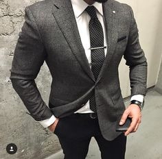 Black and gray combination