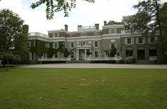 Springwood Estate at Hyde Park, New York.  Home of Franklin D. Roosevelt.
