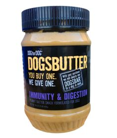 A great pet gift! Dog For Dog Dogsbutter: Not only is it a tasty treat for your pooch, but Dog for Dog matches every purchase you make. Let's say you buy a jar of Dogsbutter for your dog – Dog for Dog will donate the exact same product to a local rescue organization.