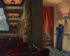 Edward Hopper. New York Movie, 1939 - El arte tras el crac de 1929 en EE UU - 20minutos.es