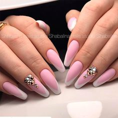 Pink Coffin Nails picture 3