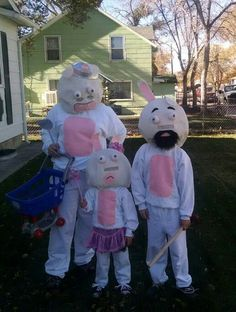 raving rabbids costumes - Raving Rabbids Halloween Costume