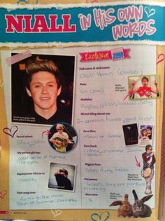 Niall in his own words