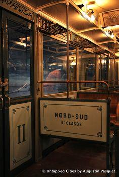 Vintage Sprague Thompson Paris Metro, 2nd Class car.