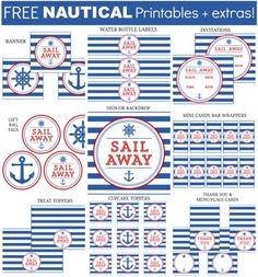 Nautical Collage Set