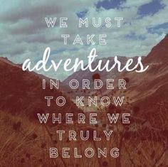 Adventures are key to success! We love this idea - #LiveCuriously