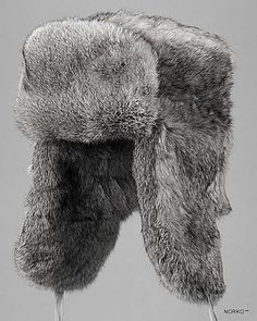 9051c3c9e31 Shop FurHatWorld for the best selection of Men s Ushanka. Buy the Grey  Rabbit Fur Russian Ushanka Hat for Men by FRR with fast same day shipping.
