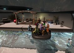 Some Snapshots from DME's Open House / Pool Party