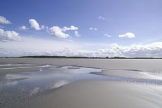 few clouds - Schiermonnikoog island, The Netherlands