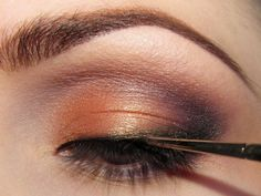 I love the copper eyeshadow!
