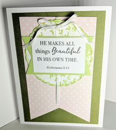 Two Pretty Easter Cards from One Die Cut | MaryGunnFunn.com