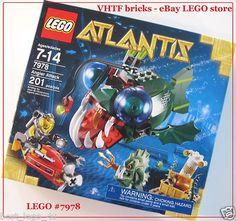 Lego Atlantis Angler Attack 7978 New SEALED Set 673419143981 | eBay
