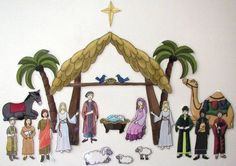 Cute Christ centered advent calendar. We are going to use this for our advent calendar.
