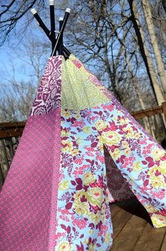 Child Toddler Kid's Play Teepee/Tent by LittleBirdsBoutique, $130.00