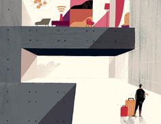 Internet of Things.  for Savia inflight mag