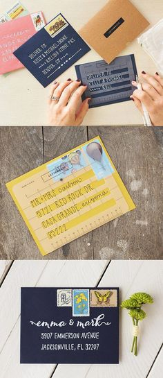 The Lettermate is an envelope stencil that makes it easy to hand address envelopes flawlessly and even add a decorative flair.