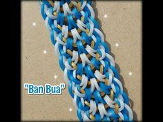 "New ""Ban Bua"" Hook Only RainbowLoom Bracelet/ How To Tutorial - YouTube"