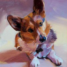 "Daily Paintworks - ""Dawson"" - Original Fine Art for Sale - © Heather Bullach"