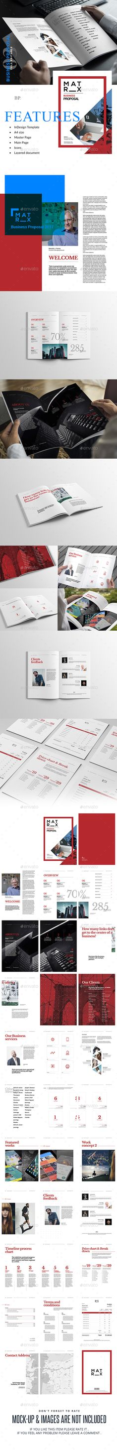 Business Proposal Template Single Page US Letter Proposals - business proposal download