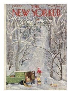 The New Yorker Cover - February 5, 1949 Poster Print by Ilonka Karasz at the Condé Nast Collection