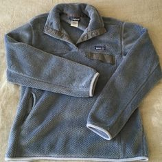 Patagonia Women's Re-Tool Fleece Pullover Patagonia pullover, great for cool spring/summer nights. Has been worn but in great condition. Patagonia Jackets & Coats