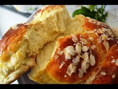 Greek Desserts, Greek Recipes, Sweets Recipes, Cooking Recipes, Bread And Pastries, Spanakopita, Holiday Baking, Cheesesteak, Food Processor Recipes
