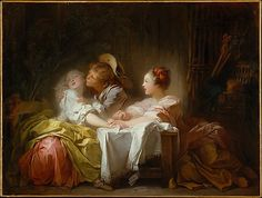 Jean Honoré Fragonard (French, 1732–1806). The Stolen Kiss, ca. 1760. The Metropolitan Museum of Art, New York. Gift of Jessie Woolworth Donahue, 1956 (56.100.1)