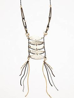 Free People Atlantic Antique Necklace, $138.00