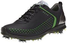 Ecco Men's Biom G2 Golf Shoes Black/Lime 12-12.5