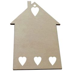 Cheap decor sticker, Buy Quality decorative sticker paper directly from China sticker heart Suppliers: Wood Craft MDF house shape laser cut woodware home decoration wooden love house heart hanging wood crafts wall sticker decors