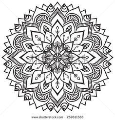Mandala Vectores en stock y Arte vectorial | Shutterstock